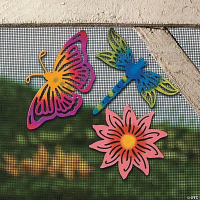 Magnetic Butterfly, Dragonfly & Flower
