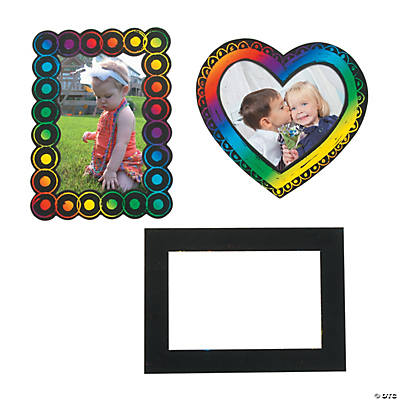 Magnetic Magic Scratch Picture Frames