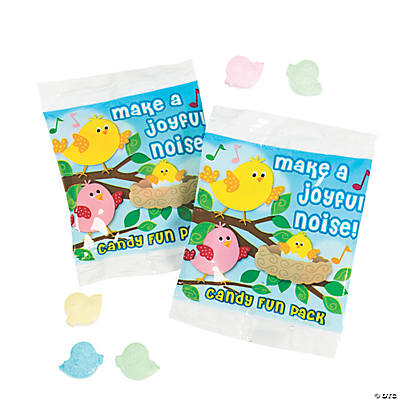 """Make A Joyful Noise!"" Candy Fun Packs"