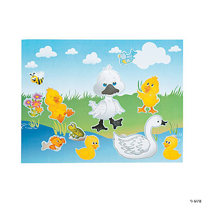 Make An Ugly Duckling Sticker Scenes