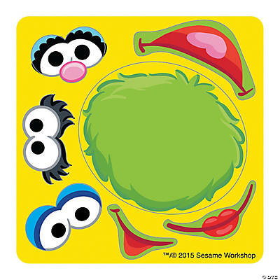 Make Your Own Sesame Street Stickers Oriental Trading Discontinued - Make your own stickers