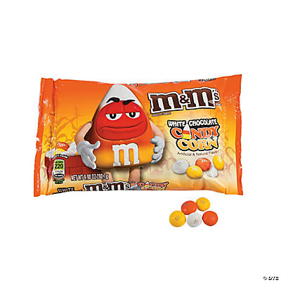 M&M's® White Chocolate Candy Corn