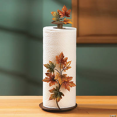 Maple Leaf Paper Towel Holder