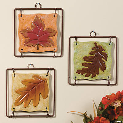 Maple Leaf Plaques