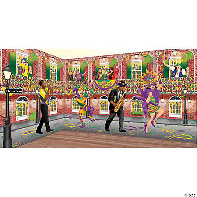 Mardi Gras Design-A-Room Musician Set