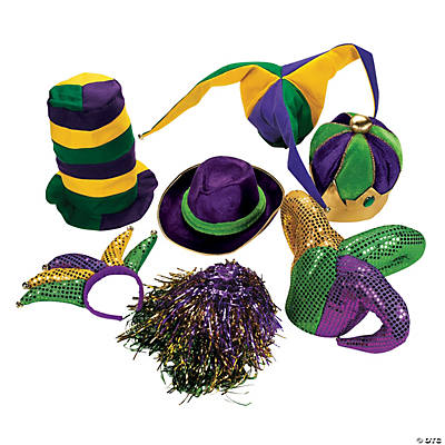 Mardi Gras Hat Assortment