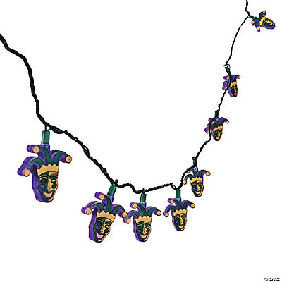 Mardi Gras Light Set