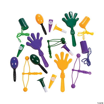 Mardi Gras Noisemaker Assortment