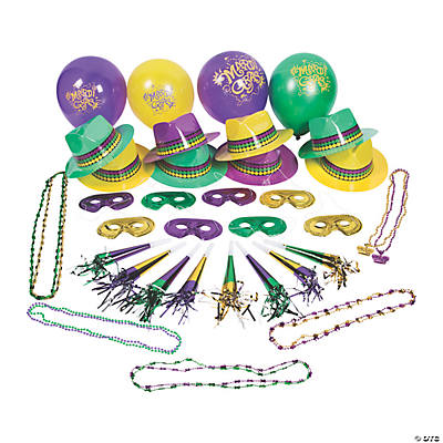 Mardi Gras Party Kit For 50