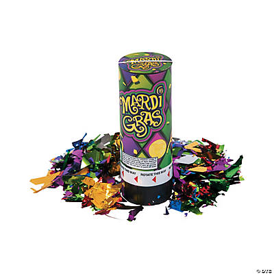 Mardi Gras Party Poppers