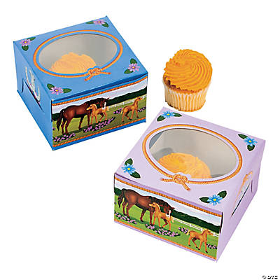Mare & Foal Cupcake Boxes