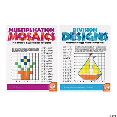 Math Adventures Multiplication and Division: Set of 3