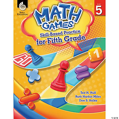 Math Games Skill-Based Practice for Grade 5