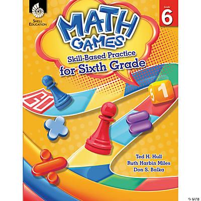 Math Games Skill-Based Practice for Grade 6
