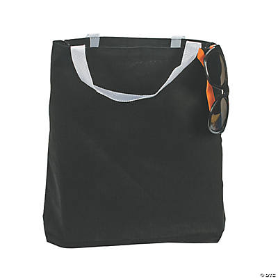 Medium Black Tote Bags
