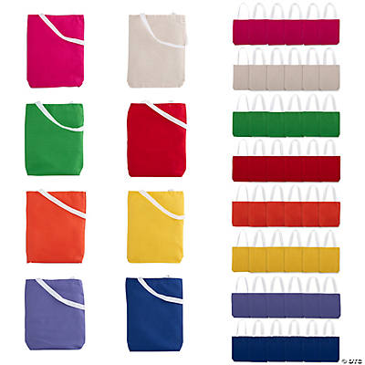 Medium Canvas Tote Bag Mega Assortment