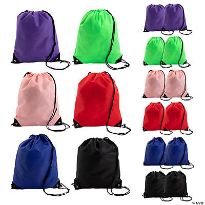 Medium Drawstring Backpack Assortment