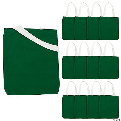 Medium Green Tote Bags
