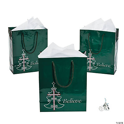 Medium Inspirational Christmas Gift Bags