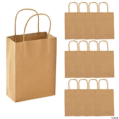 Kraft paper gift bags medium kraft paper gift bags negle Image collections