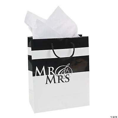 Medium Mr. & Mrs. Wedding Gift Bags
