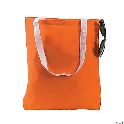 Medium Orange Tote Bags
