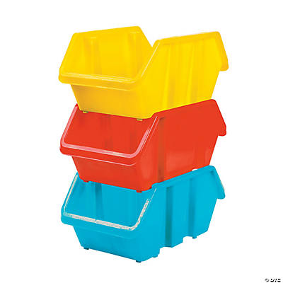 Medium Stackable Storage Bins