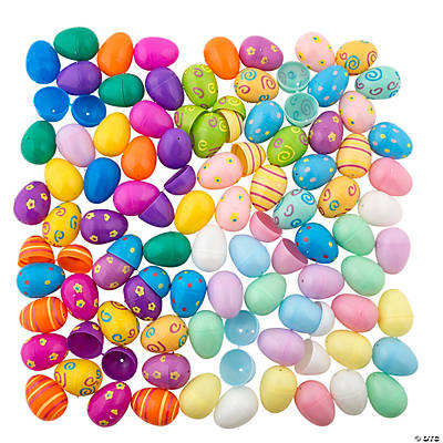 Mega Plastic Easter Egg Assortment