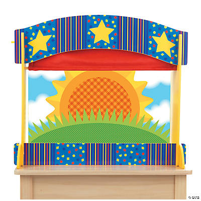 Melissa & Doug® Tabletop Puppet Theater