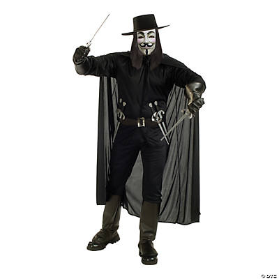 Men's V for Vendetta Costume