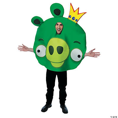 Men's Angry Birds King Pig Costume