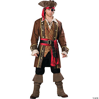 Men's Captain Skullduggery Pirate Costume