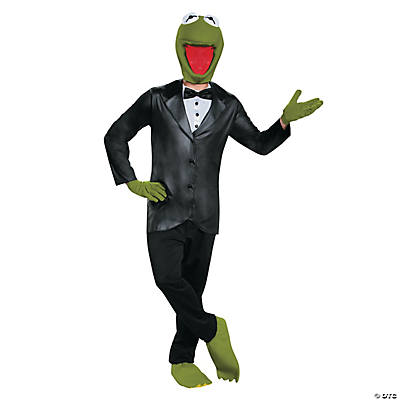 Men's Deluxe Kermit Costume