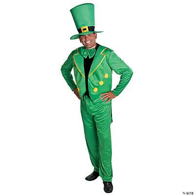 Men\'s Deluxe Leprechaun Costume - Oriental Trading