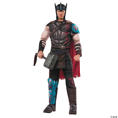 Men's Deluxe Muscle Chest Gladiator Thor Costume
