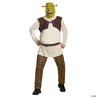 Men's Deluxe Shrek Costume