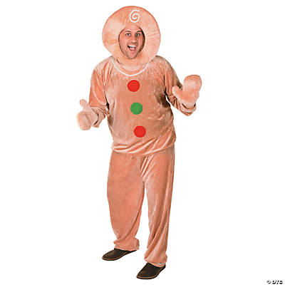 mens gingerbread costume