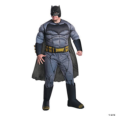 Men's Plus Size Deluxe Batman Costume