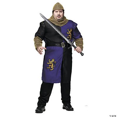 Menu0027s Plus Size Renaissance Knight Costume  sc 1 st  Oriental Trading & Adult Plus Size Costumes 2018   Oriental Trading Company