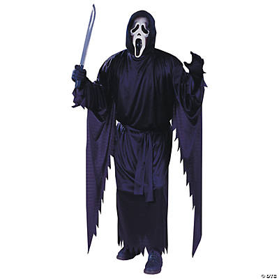 Men's Plus Size Scream Costume