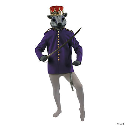 Men's Purple Nutcracker Or Mouse King Coat Costume