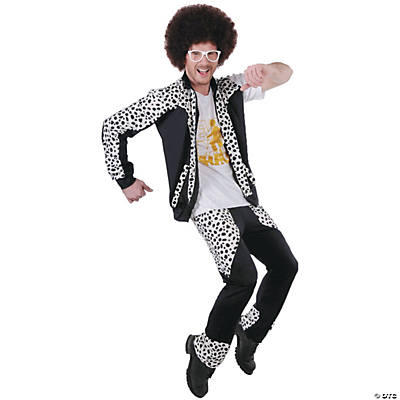 Men's Red LMFAO Foo Costume