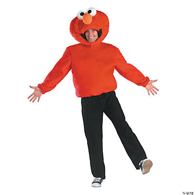 Men's Sesame Street Elmo Costume