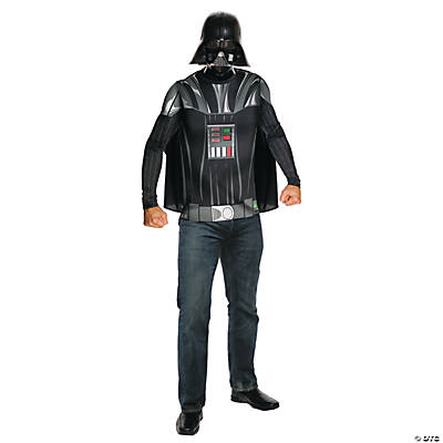 Men's Star Wars™ Shirt, Cape, and Mask Darth Vader Costume
