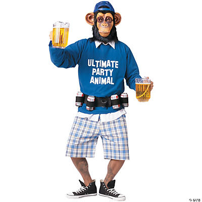 Men's Ultimate Party Animal Costume