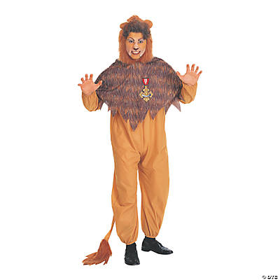 Men's Wizard of Oz Cowardly Lion Costume