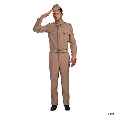 Men's World War II Private Costume - Standard
