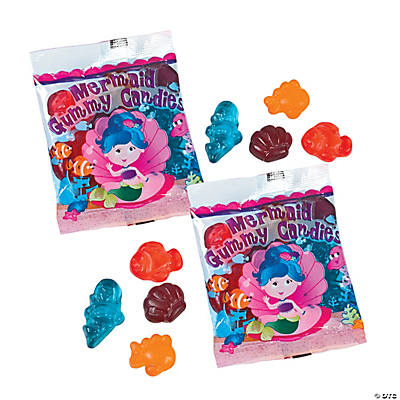 Mermaid Girl Gummy Fun Packs