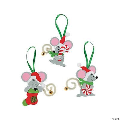 Mice Christmas Ornament Craft Kit