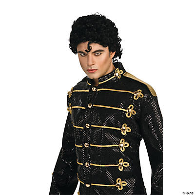 Michael Jackson Black Military Jacket Adult Men's Costume